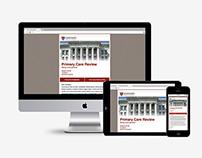 Harvard Medical School HTML Email Update