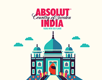 ABSOLUT INDIA - Bottle Design
