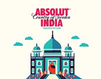 ABSOLUT INDIA - Bottle Design