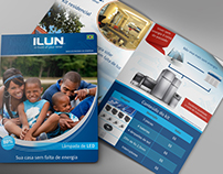 Folder da empresa Ilun