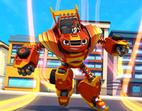 Blaze - Robot Riders transformation
