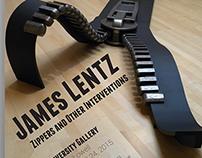 James Lentz Gallery Show Poster