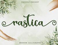 Free Rastica Calligraphy Font