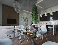 Living room follage