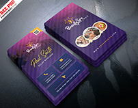 Beauty and Spa Business Card PSD