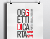 OGGETTI DI CARTA | Exhibition Identity