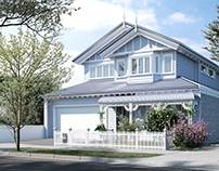 Victorian Bungalow Style Townhouse in Coburg, Victoria