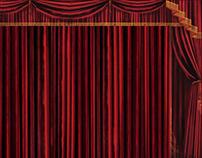 Digital Painted Curtains