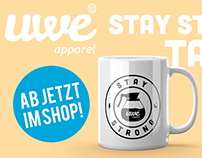 UWE Apparel Stay Strong Mug - Video