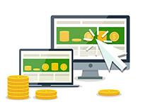 Иконки для микростоков Pay per click