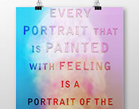 Every Portrait that is painted with feeling is a portra