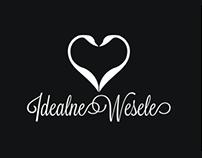 Idealne wesele - logo + strona www