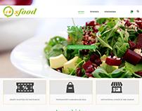 Κατασκευή ιστοσελίδας eshop sfood.gr