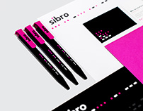 Sibro branding and launch collateral
