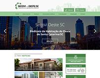 Web Site Secovi-Oeste/SC