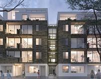 Development of a residential building in Zeeburgerdijk
