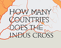 How Many Countries Does The Indus Cross