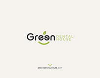 Green Dental House - Logo concept