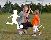 Mini Kicks | Web Design