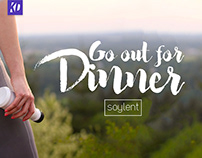 """Go out for Dinner"" – Redefined Soylent Ad"