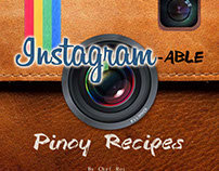 Instagramable Pinoy Cook Book (School Project)