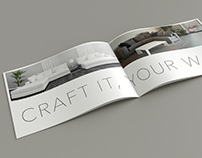 Minimal Brochure design for Krafti