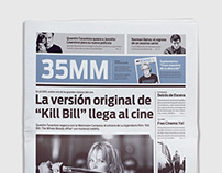 35MM   Newspaper