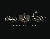 Coeur de Nuit - Corporate ID - Web - UI/UX - 2014