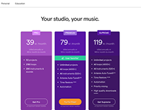 Sоundtrap (acquired by Spotify) Retention + UX/UI