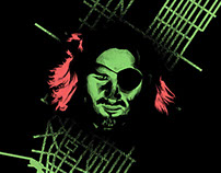 Escape From New York - Screen Print