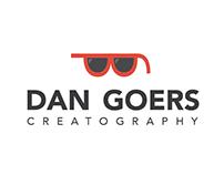 Dan Goers. Creatography. Logo