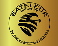 BATELEUR BREWERIES: Sharbel assisted on Design.