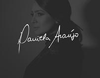 Daniela Araújo • Layout - WordPress