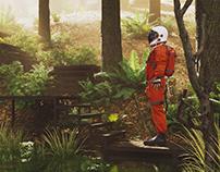 Astronaut Render.