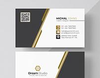 Elegant corporate card Free Psd