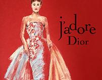 Dior / Pastel-Drawing