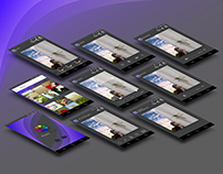 Concept and storyboard of an mobile app