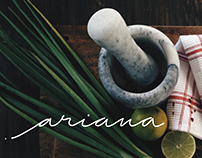 Ariana *logotype