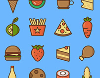 Food icons / mini pack