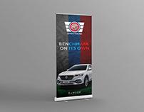 Roll Up Banner Design Inspiration
