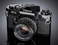 Canon F1 SLR Camera 1979 - Restoration