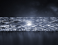 Cardiovascular stent renders