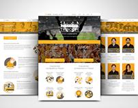 Triboom Corporate WP Website