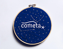 Cometa* | Piezas tipográficas