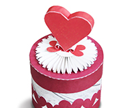 Gift Box with a 3D Heart