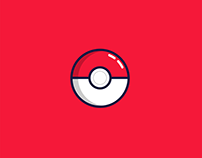 Poke Ball Illustration