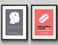 Precarious Places conference poster