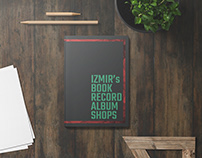Izmır's book and record shops Brochure