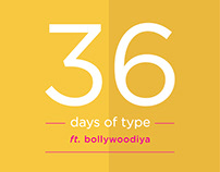 36 Days of Bollywood Type