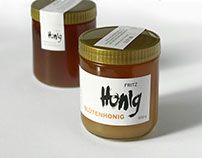 Branding and packaging design for beekeeping